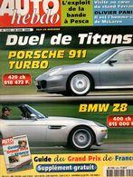 Auto Hebdo 2000 Porsche 911 BMW Z8 Panis Spécial GP France (13 Pages) Hakkinen Schumacher - Sport