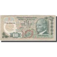 Billet, Turquie, 100 Lira, KM:189a, TTB - Turchia