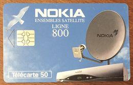 NOKIA LIGNE 800 TELECARTE PRIVÉE PUBLIQUE 50 UNITÉS RÉFÉRENCE PHONECOTE En1018 PHONECARD - 50 Units