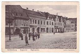 Romania Sighisoara Segesvar Schassburg Untere Marktzeile - Romania