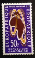 Gabon, « Europafrique», « Air Mail », 1963 - Gabon (1960-...)