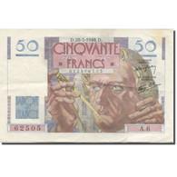 France, 50 Francs, Le Verrier, 1946, 1946-03-28, TTB, Fayette:VF20.2, KM:127a - 50 F 1946-1951 ''Le Verrier''