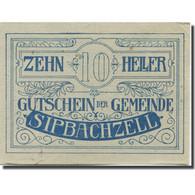 Billet, Autriche, Sipbachzell, 10 Heller, Valeur Faciale, 1920 SUP Mehl:FS 1000 - Austria