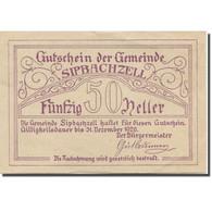 Billet, Autriche, Spibachzell, 50 Heller, Eglise  1920-12-31, SUP, Mehl:FS 1000 - Austria