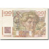 France, 100 Francs, Jeune Paysan, 1954, 1954-01-07, SUP+, Fayette:F28.41 - 1871-1952 Antiguos Francos Circulantes En El XX Siglo