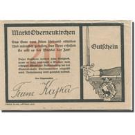Billet, Autriche, Oberneukirchen, 20 Heller, épée, TTB, Mehl:FS 691b - Austria