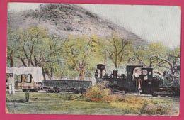 Namibia, Bahn Swakopmund Windhuk Deutsch Sud West Afrika, Railway Train W/ Stamp 1909 ( Germany Colonial ) - Namibie