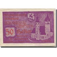 Billet, Autriche, Kitzbühel, 50 Heller, Eglise 1920-12-31, TTB Mehl:FS 449e1 - Austria