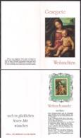 Deustchland - Flyer Philatelico Avec Des Motifs De Noël Et Du Nouvel An - Gisela Und Hermann  W. Sieger - Cygnus - Weihnachten