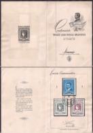 Argentina - 1956 - Dépliant Philatéliques - Centanerio Du Premier Timbre Postal Argentin - Cygnus - Argentina
