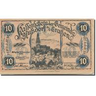 Billet, Autriche, Traisen, 10 Heller, Eglise 1920-12-31, SUP, Mehl:FS 678a - Austria