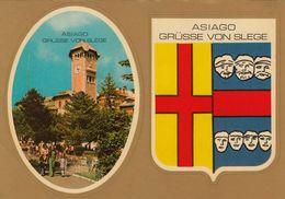 ASIAGO-VICENZA--CARTOLINA AUTOADESIVA NON VIAGGIATA 1970-1980 - Vicenza