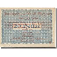 Billet, Autriche, Aschach, 20 Heller, Blason, TTB, Mehl:FS 53IIb20 - Austria
