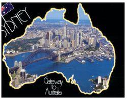 (C 11) Australia - NSW - Sydney (wit Map) - Sydney