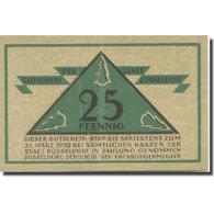 Billet, Allemagne, Düsseldorf, 25 Pfennig, Blason 1919-10-15, SUP Mehl:D35.4a - Duitsland