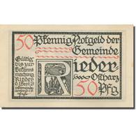 Décoration, Allemagne, Rieder, 50 Pfennig, Personnage, 1921 SPL Mehl:1122.1a - Duitsland