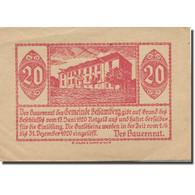 Billet, Autriche, Behamberg, 20 Heller, Château 1920-12-31, SUP, Mehl:FS 80a - Austria