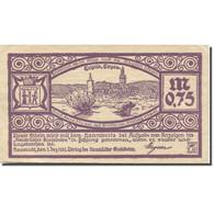 Billet, Allemagne, Neustadt, 75 Pfennig, Paysage, 1921 SUP Mehl:964.4 - Duitsland
