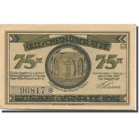 Billet, Allemagne, Gernrode-Harz, 75 Pfennig, Ferme 1921-05-09, SPL Mehl:423.2a - Duitsland