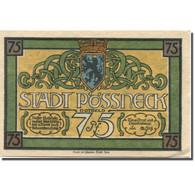 Billet, Allemagne, Possneck, 75 Pfennig, Blason, SPL, Mehl:1066.2 - Duitsland