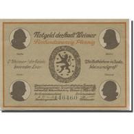 Billet, Allemagne, Weimar, 25 Pfennig, Théâtre, 1921, SPL Mehl:1398.1a - Duitsland