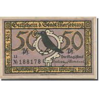Billet, Allemagne, Altenburg, 50 Pfennig, Oiseau, 1921, TTB, Mehl:21.2 - Duitsland
