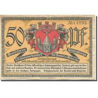 Billet, Allemagne, Wittenberge, 50 Pfennig, Blason, TTB, Mehl:1444.1 - Duitsland