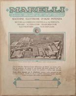 MARELLI , MACCHINE ELETTRICHE, DINAMO ALTERNATORI, DIM. 22X28 CM - Advertising