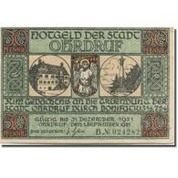 Billet, Allemagne, Ohrdruf, 50 Pfennig, Personnage, 1921 SUP Mehl:1012.4 - Duitsland