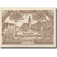 Billet, Autriche, Waizenkirchen, 50 Heller, Place, 1920 SPL Mehl:FS 1128a - Austria