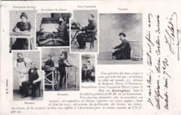75 - PARIS  - POUR LE BIEN DES AVEUGLES ASSOCIATON VALENTIN HAUY - Petit Metier- - Métiers