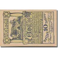 Billet, Autriche, Egelsee, 10 Heller, Eglise 1920-05-23, SPL Mehl:FS 158a - Austria