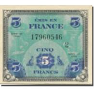 France, 5 Francs, Drapeau/France, 1944, 1944-06-06, SUP, Fayette:VF 17.02 - 1944 Vlag/Frankrijk