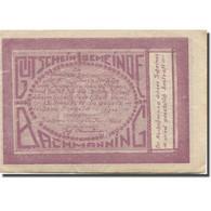 Billet, Autriche, Bachmanning, 20 Heller, Champs 1921-06-15, SUP Mehl:FS 76Ia - Austria