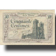 France, Reims, 50 Centimes, 1926, Chambre De Commerce, TTB - Chamber Of Commerce