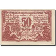 Billet, Autriche, Lambach, 50 Heller, Château 1920-03-30, SUP Mehl:FS 496a - Austria