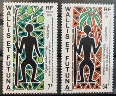 WALLIS & FUTUNA - MNH**   - 1991 - # 599, 602 - Wallis Y Futuna