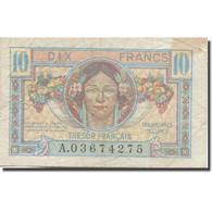 France, 10 Francs, 1947 French Treasury, 1947, 1947, TB+, Fayette:VF30.1, KM:M7a - Schatkamer