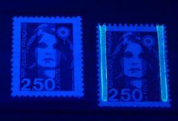 YT N° 2715b - Sans Phosphore Signé Calves + à Normal - Neufs ** - Cote: 50,00 € - 1989-96 Bicentenial Marianne