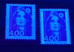 YT N° 2717a - Sans Phosphore Signé Calves + à Normal - Neufs ** - Cote: 70,00 € - 1989-96 Bicentenial Marianne