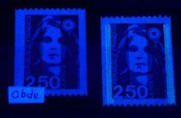 RARE - YT N° 2719b - Sans Phosphore Signé Calves + Normal - Neufs ** - Cote Maury: 1250,00 € (Maury N° 2713-1b) - 1989-96 Bicentenial Marianne