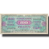 France, 50 Francs, 1945 Verso France, 1945, 1945-06-04, TB+, Fayette:VF24.02 - Schatkamer