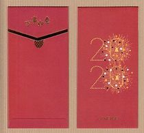 BCC Chinese New Year 'LANEIGE' 1/3 YEAR Of The RAT CHINOIS Red Pockets Red CNY 2020! - Cartas Perfumadas