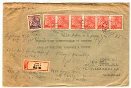 34302 - Recommandée  Pour L'Allemagne - Lettres & Documents