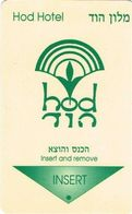 ISRAELE  KEY HOTEL  Hod Hotel  -     Dead Sea - Hotelsleutels (kaarten)