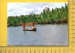CPM  VIET-NAM, QUE HUONG : Sur La Rivière De Tiem - Viêt-Nam