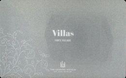 ITALIA  KEY HOTEL  Forte Village Sardinia - Villas - PULA ( CAGLIARI ) - Hotelsleutels (kaarten)