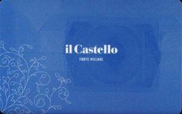 ITALIA  KEY HOTEL  Forte Village Sardinia - Il Castello - PULA ( CAGLIARI ) - Hotelsleutels (kaarten)