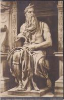 C. Postale - Roma - Museo Vaticano - Mose - Circa 1930 - Non Circulee - Cygnus - Musées