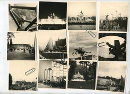 EXPO 1958  - 28 Photo's - Foto's    : Exposition Internationale Bruxelles - Brussel : - Lieux